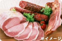 霧島黒豚のハム・ソセージ・ベーコン・惣菜などへの加工